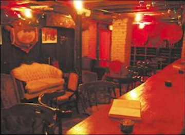The speakeasy is the most haunted room in the tavern, according to the owners. (HERALD PHOTO/Ryan LaBo)