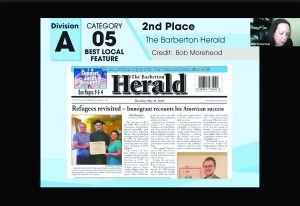 Herald places well in this year's Hooper Awards ...