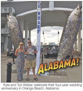 Kyle and Tori Weber